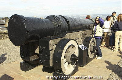 Mons Meg is one of the world's oldest cannons