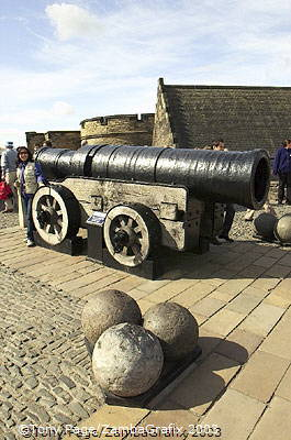 Mons Meg - was so-called because it was built in Mons, Belgium
