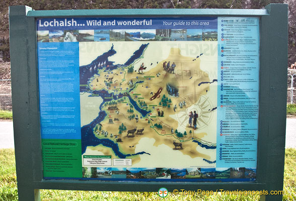 Information about the Lochalsh area