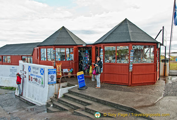 The First and Last giftshop in Scotland