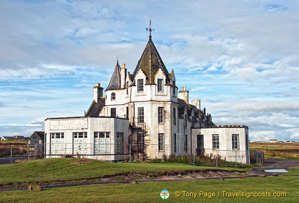 John O'Groats Hotel - now empty