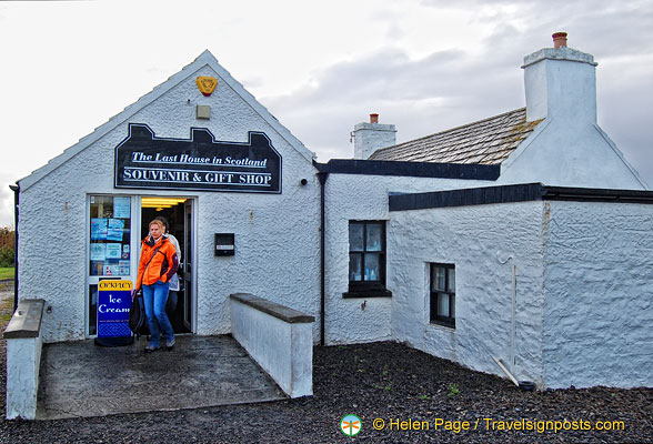 The Last House in Scotland Gift Shop