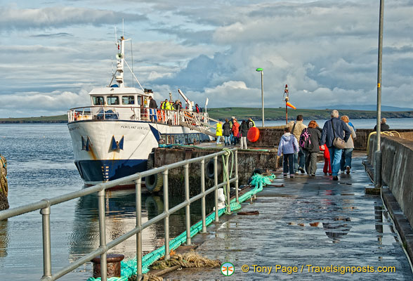 The Pentland Venture ferry services John O'Groats