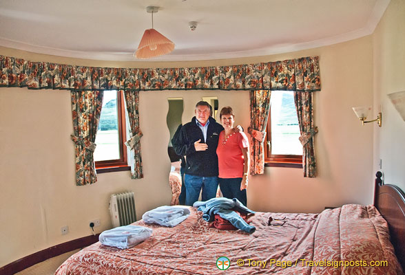Marie and Ray scored a decent sized room