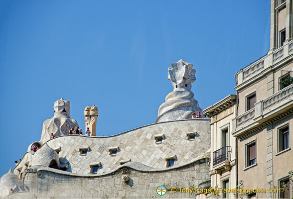 The witch scarers of Casa Mila