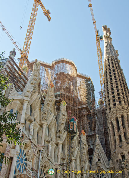 The Glory Facade is dedicated to the Celestial Glory of Jesus