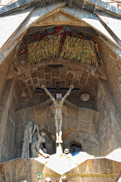 Passion Facade: The Crucifixion and Death of Jesus