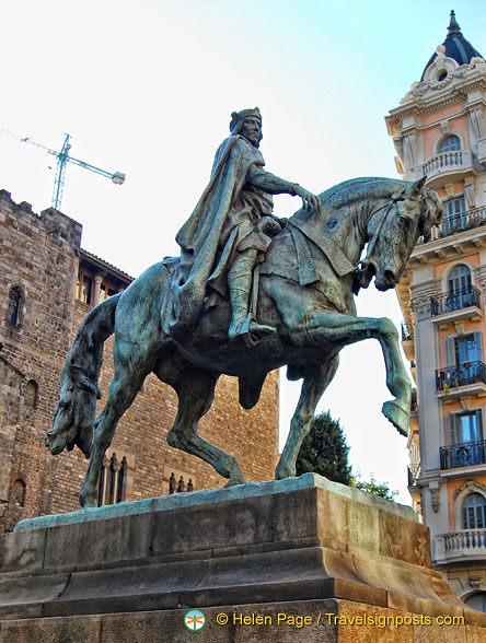 Equestrian statue of Ramon Berenguer III, the Great