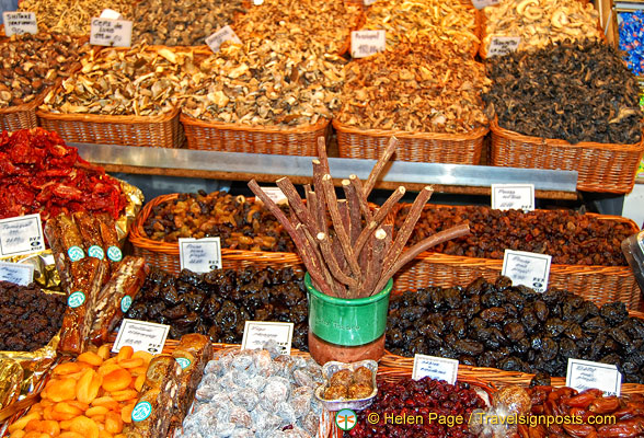 The dried mushrooms are great.  Shame we couldn't take some home