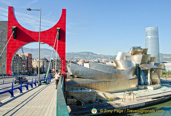 The Red Arches on Puente de la Salve