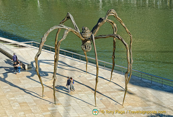'Maman' a sculpture by Louise Bourgeois