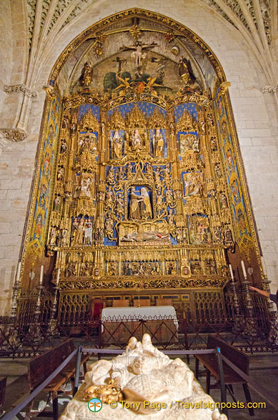 Burgos Cathedral: Chapel of the Conception or of St Anne