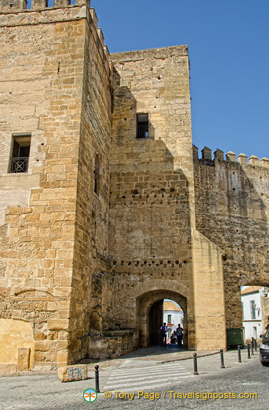 Fortress walls of the Carmona Alcazar