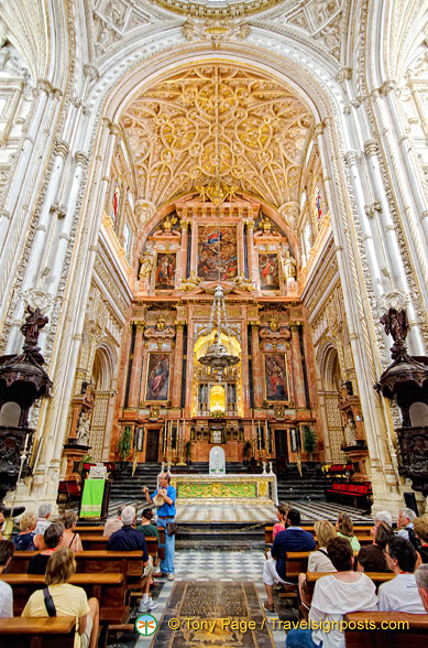 High Altar of Cathedral of Cordoba