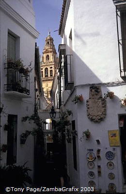 A walk around the city centre gives the sensation that little has changed since the 10th century when Cordoba was one of the gre
