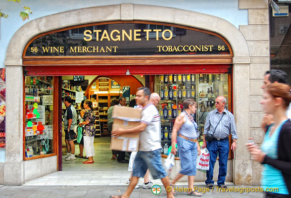 Stagnetto - a wine merchant and tobaconist