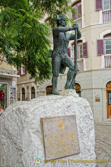 Monument presented to the People of Gibraltar by the Corps of Royal Engineers