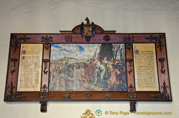 Artwork from the Capilla Ral