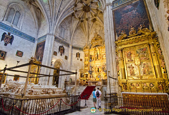 Capilla Real:  Royal Mausoleums and Altarpieces