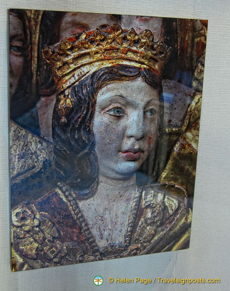 Capilla Real: Portrait of Queen Isabel in the Sacristy Museum