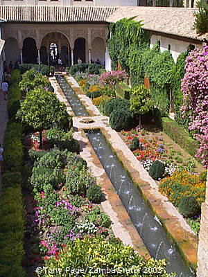 The Alhambra: Patio de la Acequia