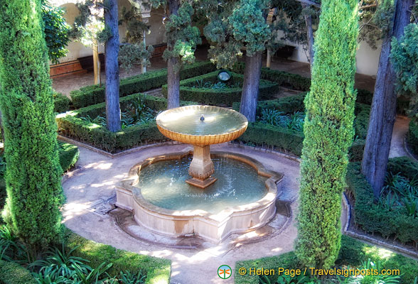 Alhambra water fountain