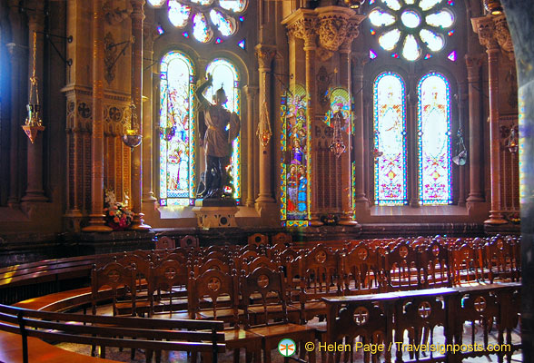 The Choir of Montserrat Basilica