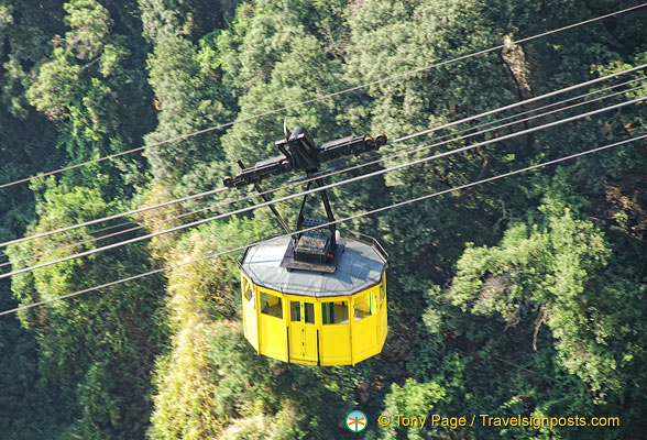 The Aeri cable car