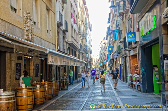Streets of Pamplona