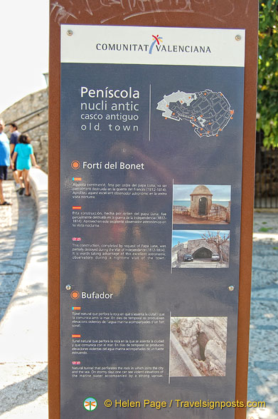 Information about Peñíscola attractions