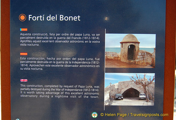 About the Forti del Bonet