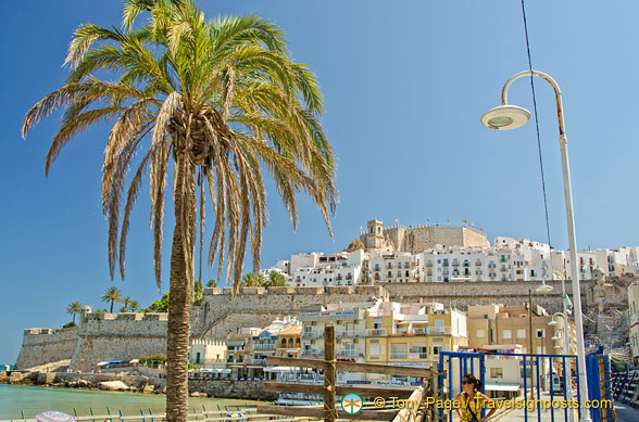 There are many beaches in Peñíscola and the closest to the old town is the North beach