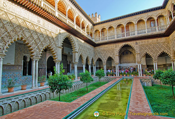 The Patio de las Doncellas