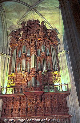 Seville Cathedral - Pipe organ