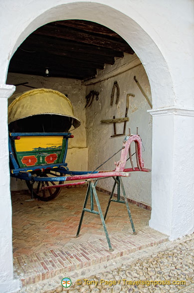 Another display of the carriage museum