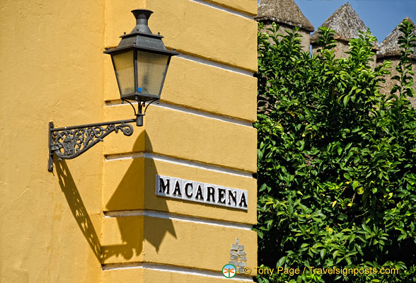 La Macarena - a district in Seville