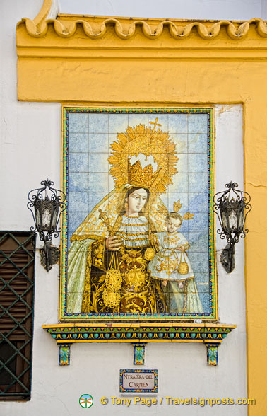 La Macarena is the most revered religious image in Seville