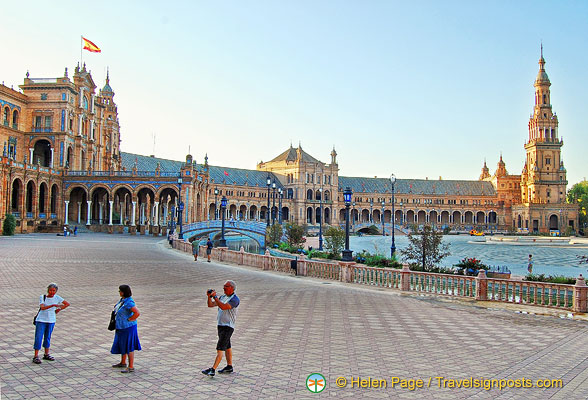 View of Plaza de Espana