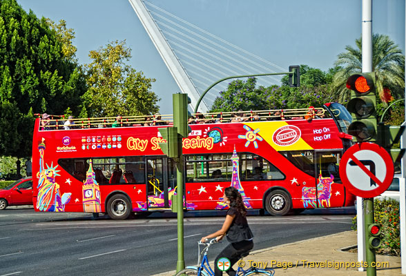Seville sightseeing bus