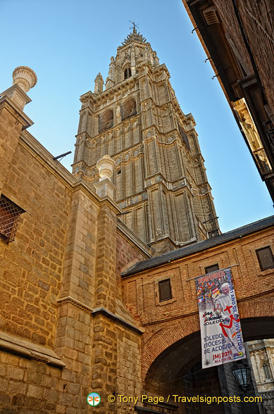 Toledo Cathedral tower