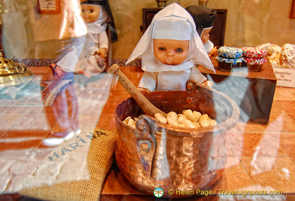 Nuns used to make these Toledo sweets, hence the dolls