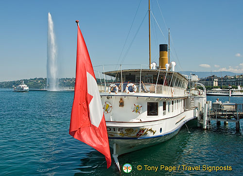 Geneva and Lac Leman