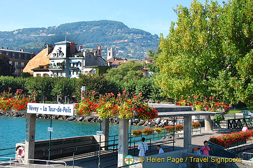Lac Leman cruise to Montreux