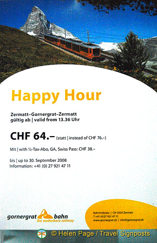 Happy Hour in Zermatt
