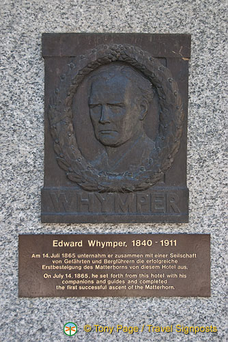 Memorial to Edward Whymper