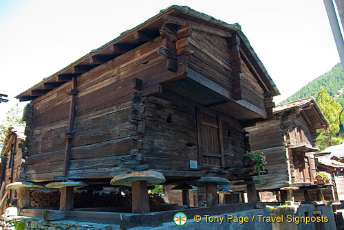 These old wooden buildings are from the 16th century