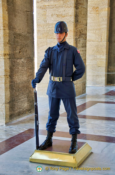 Guard at the Anitkabir