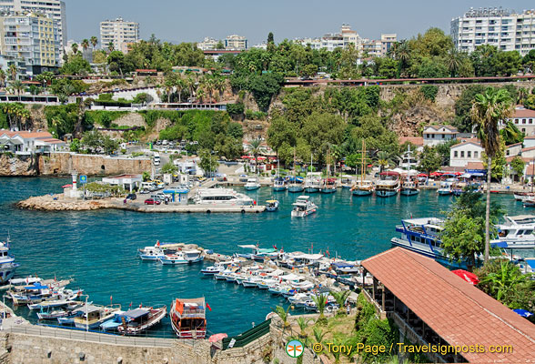 Harbour view in Antalya