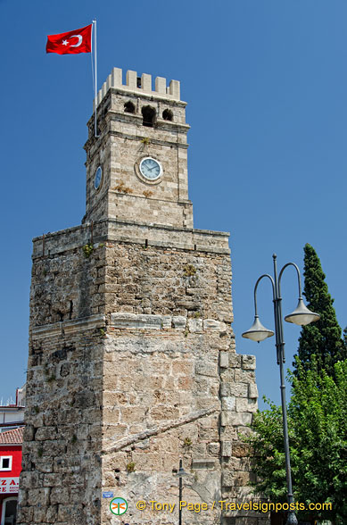 The Clock Tower is believed to be part of the city's fortification