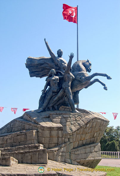 Ataturk Monument on Republic Square